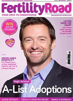 Hugh Jackman Fertility Road Cover