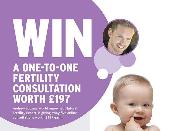 Andrew Loosely Win A One To One Fertility Consultation with Fertility Road