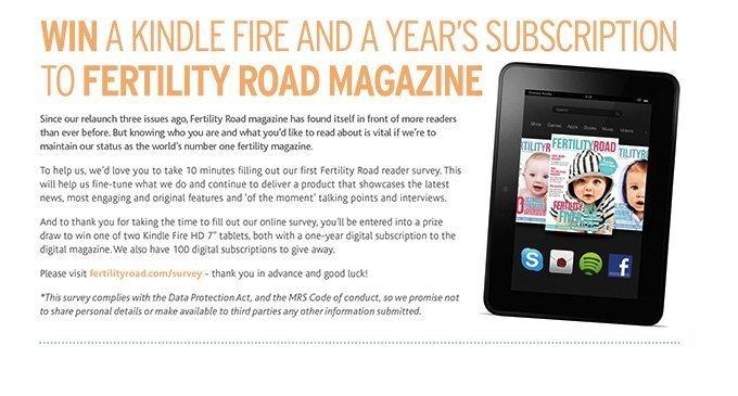 Fertility Road Magazine 2014 Reader Survey