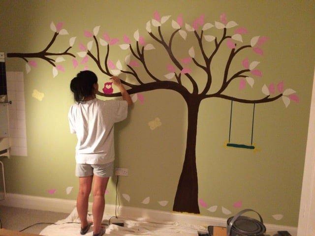 Painting Nursery