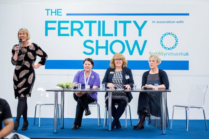 The Fertility Show Q&A Stage