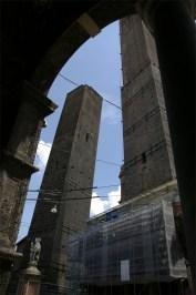 Torres Garisenda y Asinelli
