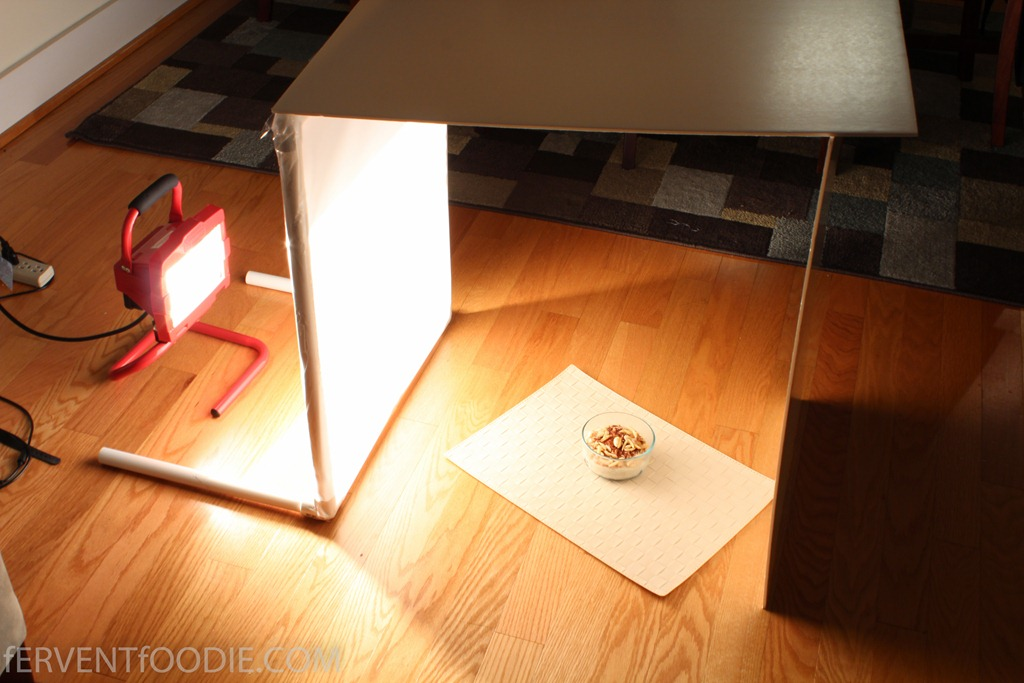 DIY Photography Light Diffuser on the Cheap  Fervent Foodie