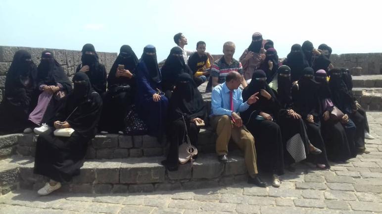 رحلة علمية لطلاب المستوى الرابع قسم الأحياء إلى محافظة عدن