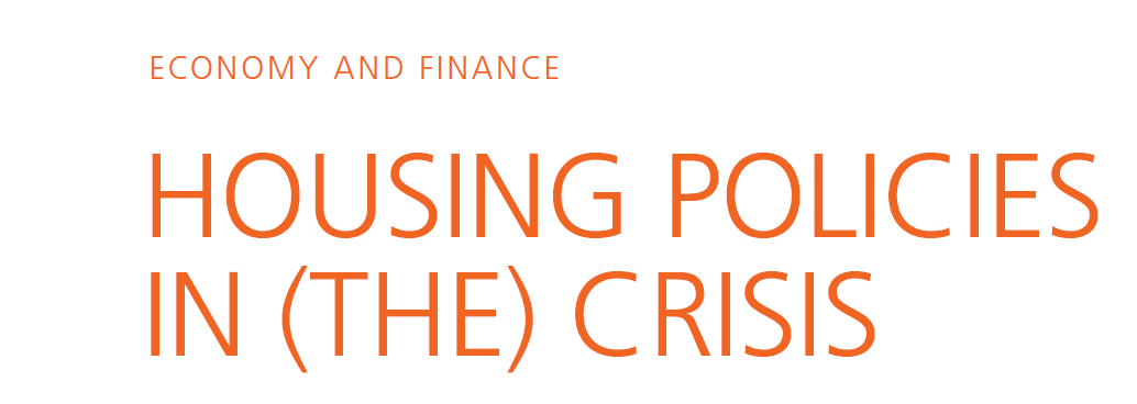 """New study """"Housing Policies in (the) Crisis: The Troika Memorandum and the Housing Market in Portugal"""""""