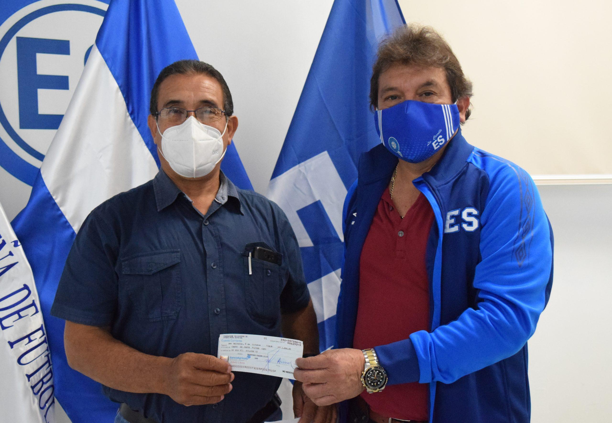 Señor Casto de Jesús Flores de Club Deportivo Juventud Independiente, San Juan Opico, La Libertad.