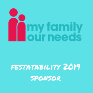 My Family Our Needs - Festability 2019 sponsor