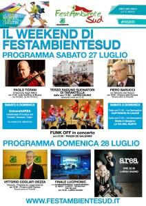 Weekend di FestambienteSud_sabato 27 e domenica 28 luglio 2013