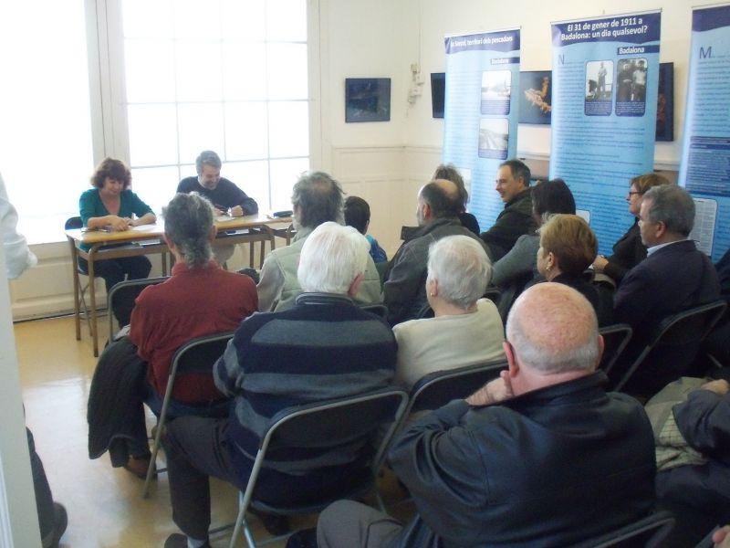 Conferència d'en Joan Rosàs sobre els pirates a Badalona