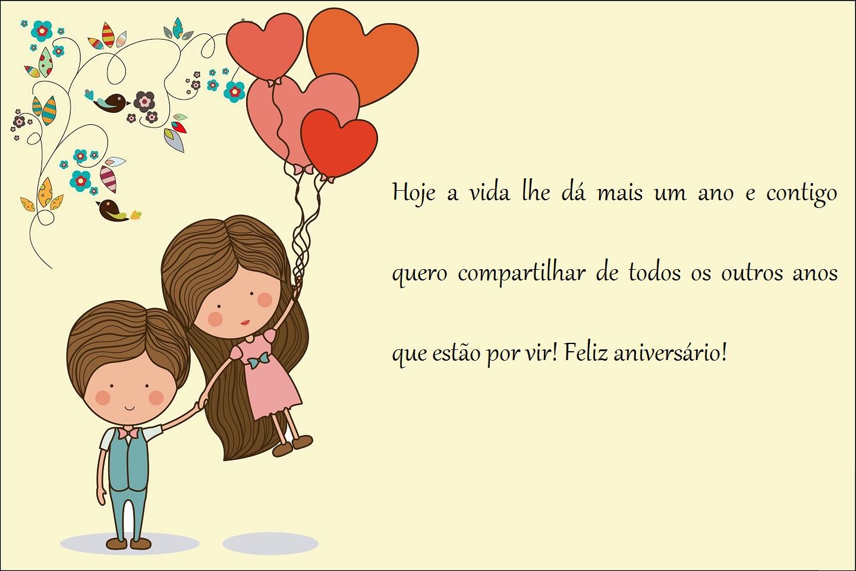 Mensagem De Aniversario Para Namorado: Felicitacoes De Aniversario