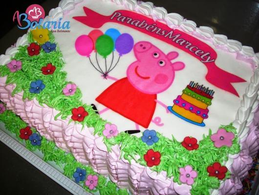 Bolo Peppa Pig 40 Modelos Belssimos para Caprichar na Festa