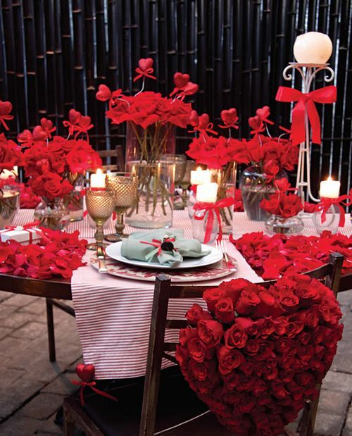 Jantar Dia dos Namorados  Receitas Fceis  Como Decorar a Mesa