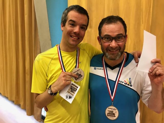 Des médailles pour FestiBad aux championnats d'Alsace vétérans !