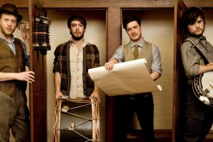 Mumford and Sons Group Shoot 2012