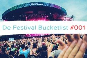 Rock Werchter bucketlist