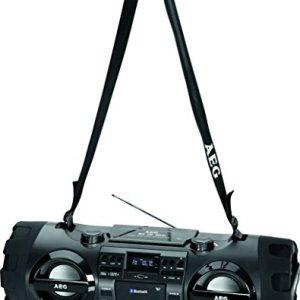 AEG Ghettoblaster mit Bluetooth/USB