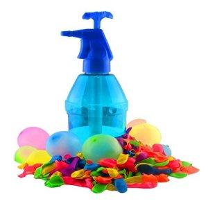 K7plus-Wasserbomben-Pumpe-mit-200-Wasserballons-Einfllhilfe-fr-Wasserbomben-15-Liter-Inhalt-0