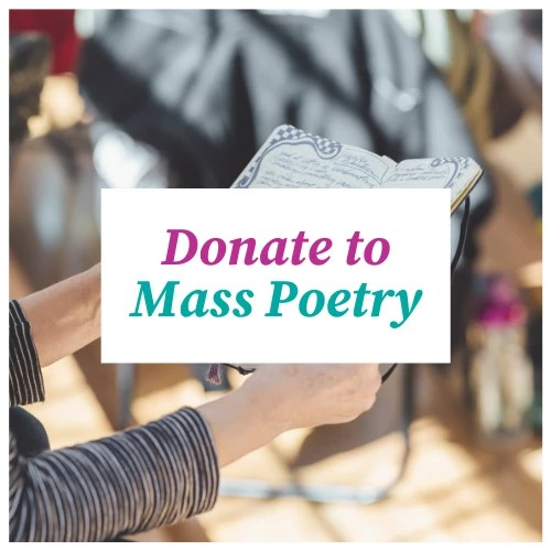 Donate to Mass Poetry clickable banner