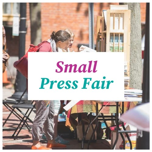 Small Press Fair clickable banner