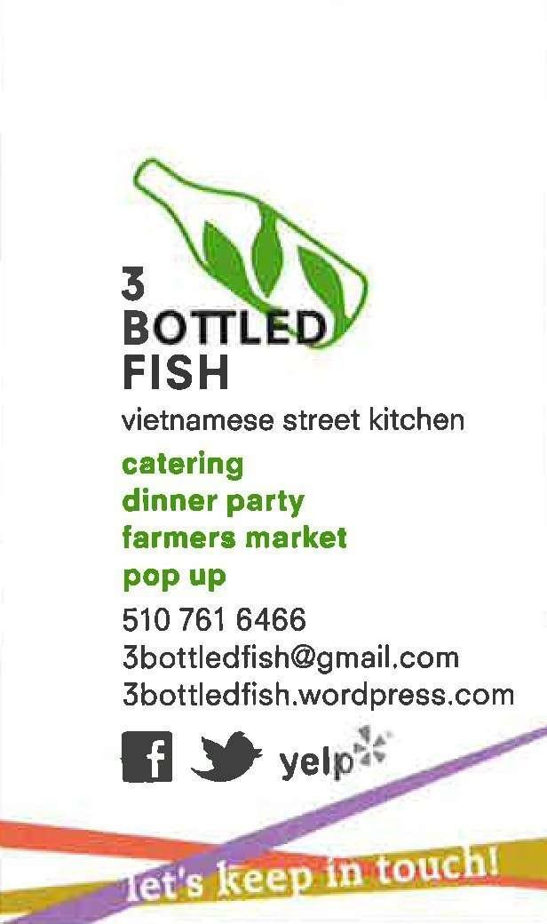 3 Bottled Fish