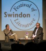 Matt Holland in conversation with Simon Heffer Image ©Calyx Pictures
