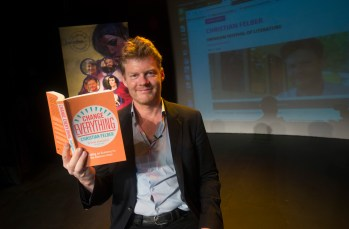 Swindon Festival of Litrature Pictured Christian Felber 11/05/16 Pictures Clare Green/www.claregreenphotography.com