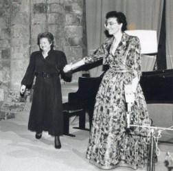 1992: Catherine Collard et Nathalie Stutzmann