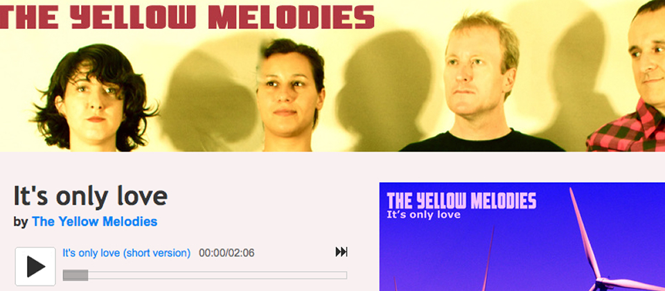 The Yellow Melodies: It's only love