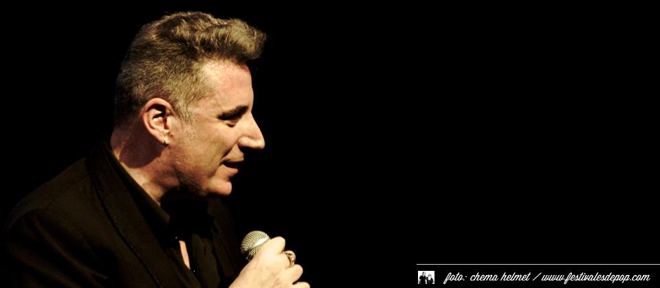 Loquillo en concierto en el Teatro Circo (Murcia, enero de 2012)