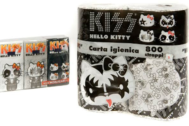 Papel higiénico Hello Kitty Kiss edition