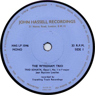 Un disco editado por John Hassell