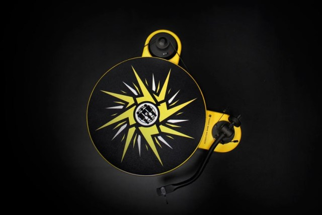 Pro-Ject Limited Lightning Yellow RM 1.3 Turntable