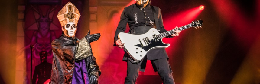 Ghost at Bloodstock 2017 Courtesy of Tim Finch (http://www.timfinch.net/)