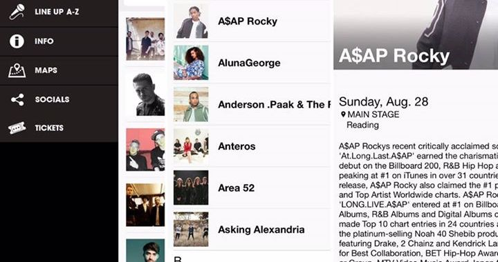 The new Reading '16 app is ready to download NOW! View the A-Z line up, artist b…