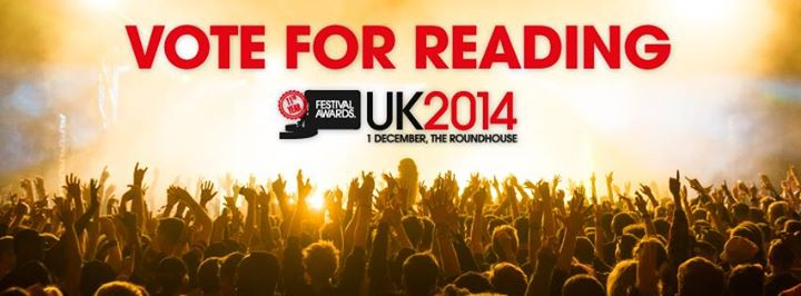 We've been nominated for Best Major Festival, please vote for us here: