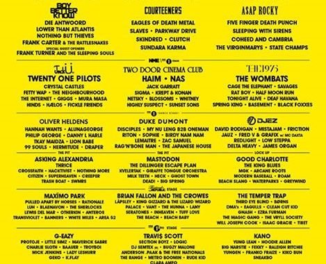 Your updated Reading '16 line up