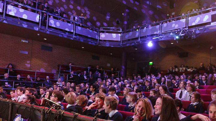 The Gloucestershire Schools' Christmas Lecture brought all the fun of Cheltenham...