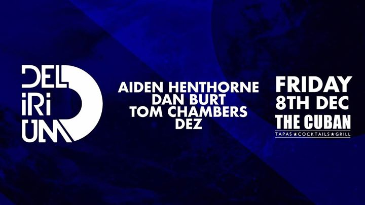 Canterbury! Get ready for House music all night long tomorrow at  Delirium Final...