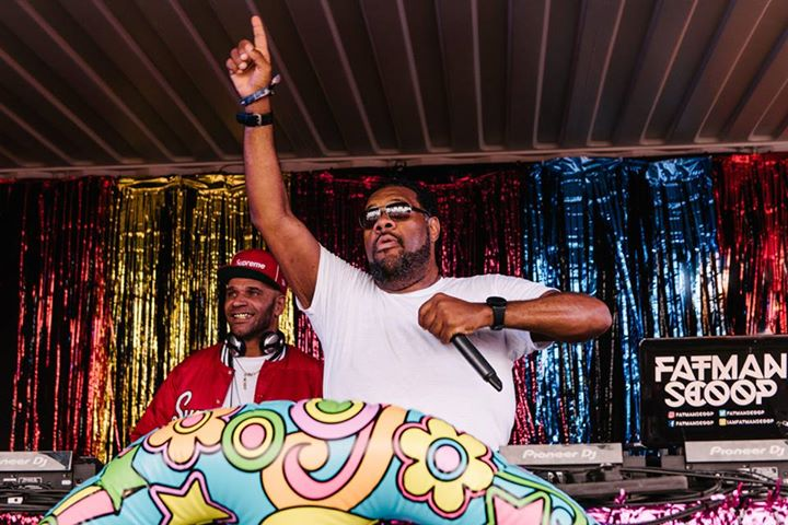 Throwback to when Fatman Scoop hit the Uncontained Stage with Goldie still provi...