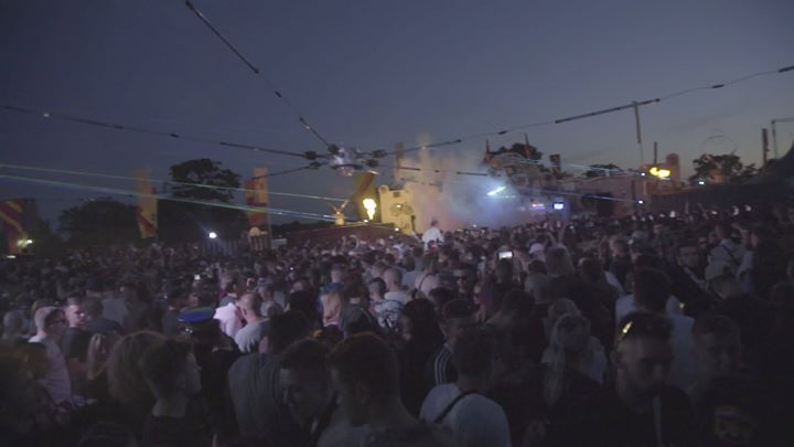 Hot Since 82 killing it the Switchyard this year.  #easternelectrics  #london