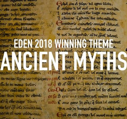 We have a winner! 'Ancient myths' is officially the theme of Eden Festival 2018....