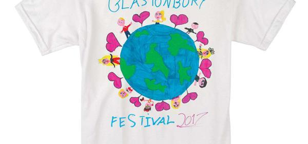KIDS 2017 PLANET T-SHIRT | Glastonbury Festival