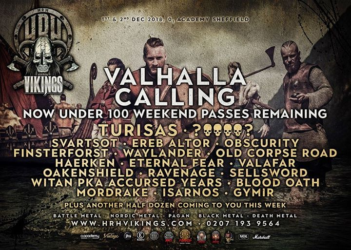 HRH Vikings send a call from Valhalla...