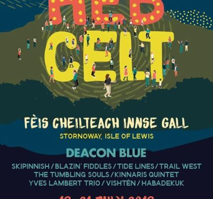 Our pre Christmas announcement flyer. Tickets from hebceltfest.com  #hebcelt2018...