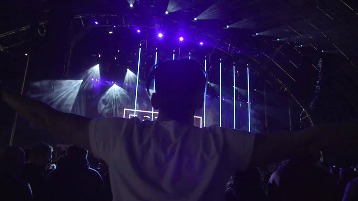 Estiva kicking things off at Creamfields Steel Yard - A State Of Trance