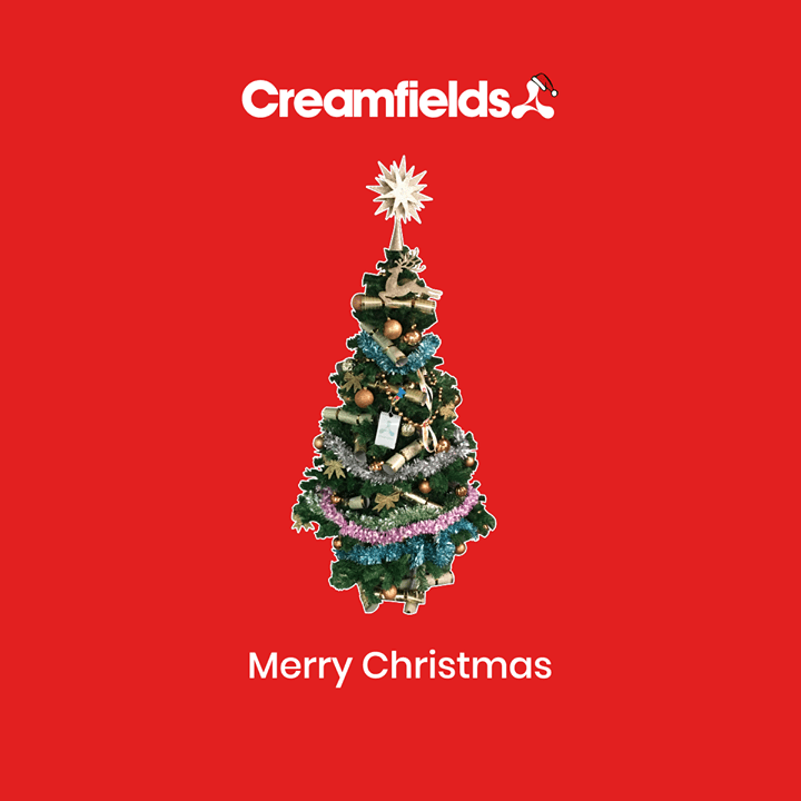 Merry Christmas, love Creamfields x