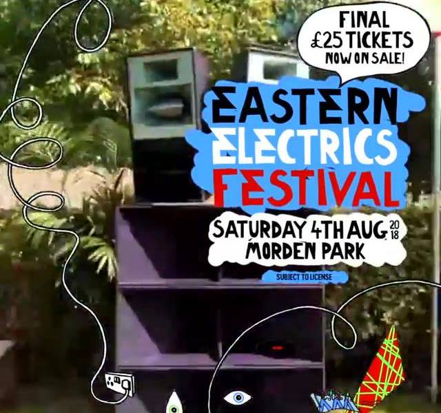 Nearly the end of dry January, and also £25 tickets to Eastern Electrics Festiva...