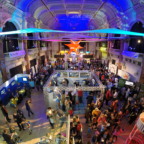 Throwback to our Discover Zone at last year's  #cheltscifest ...