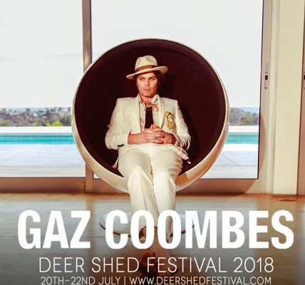 Gaz Coombes' latest album 'World's Strongest Man' will be released on 4th May th...