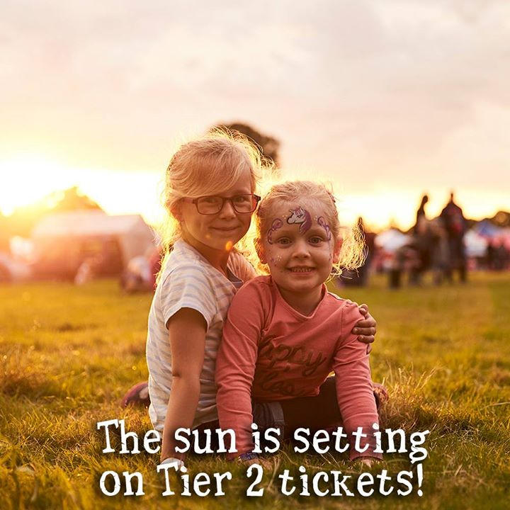 Tier 2 tickets SELL OUT at midnight TONIGHT!!...